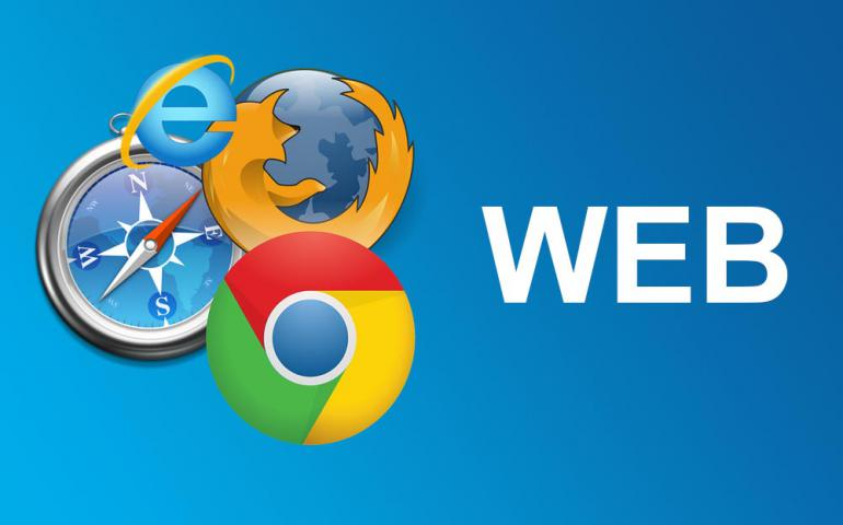Web et logos Internet explorer chrome mozilla firefox et safari
